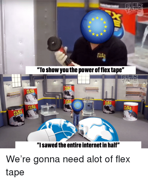 To Show You the Power of Flex Tape ELEX PE 从从从从从从 PE