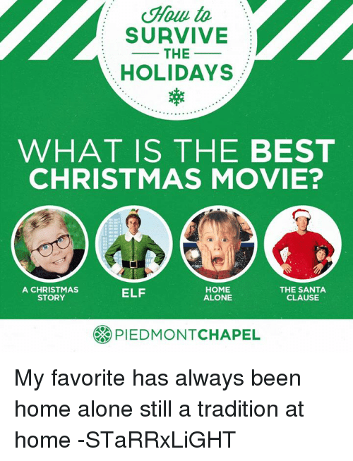 elf home alone and memes to survive the holidays what is the best - Top Christmas Movie
