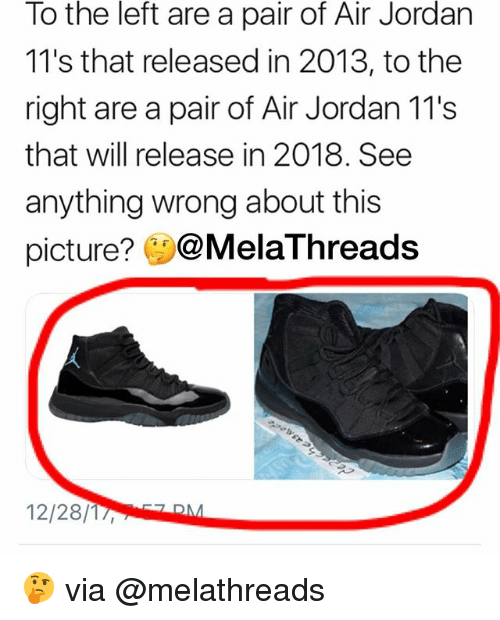 Air Jordan, Memes, and Jordan: To the left are a pair of Air