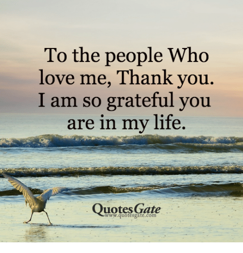 Love You Thank You Quotes: 25+ Best Memes About Life Quote
