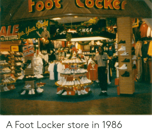 f5b062e0a15f To THE STRIPES a Foot Locker Store in 1986