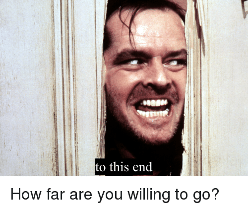 How, You, and This: to this end