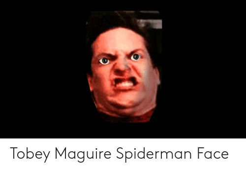 Tobey Maguire Funny Face