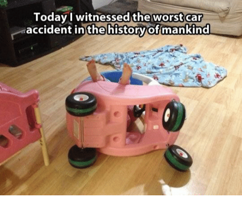 Today I Witnessed The Worst Car Accident