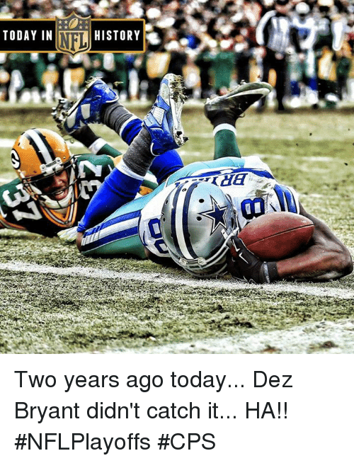 Today In History Two Years Ago Today Dez Bryant Didn T