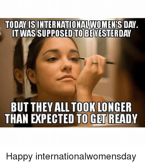 Happy Womens Day Funny Images