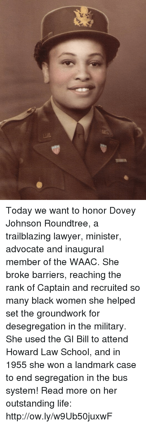 aa3b4cff6d Lawyer, Life, and Memes: Today we want to honor Dovey Johnson Roundtree,