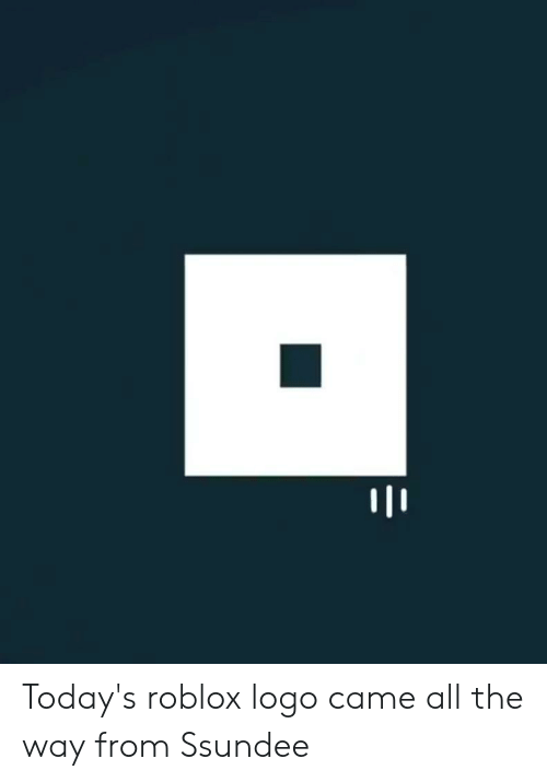 Today's Roblox Logo Came All the Way From Ssundee | Reddit