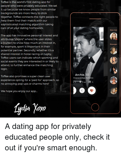 sophisticated dating apps