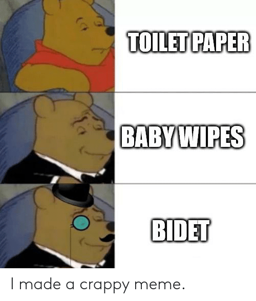 Terrific Toilet Paper Babywipes Bidet I Made A Crappy Meme Meme On Uwap Interior Chair Design Uwaporg