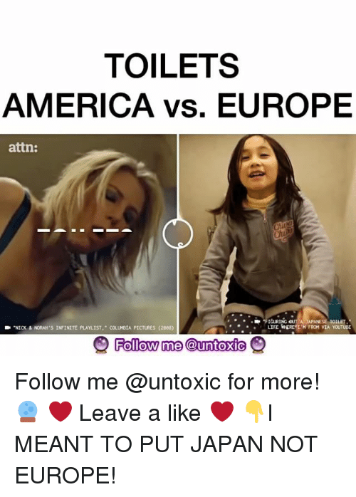 toilets america vs europe attn figuring out a ja toilet 9404053 ✅ 25 best memes about attn attn memes