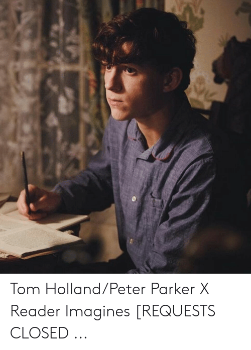 Tom HollandPeter Parker X Reader Imagines REQUESTS CLOSED | Holland