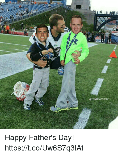 Fathers Day, Tom Brady, and Happy: @TOMBRADYSEGO Happy Father's Day! https://t.co/Uw6S7q3lAt