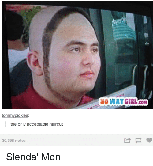 Haircut Girl Meme: Tommy Pickles The Only Acceptable Haircut 30398 Notes NO