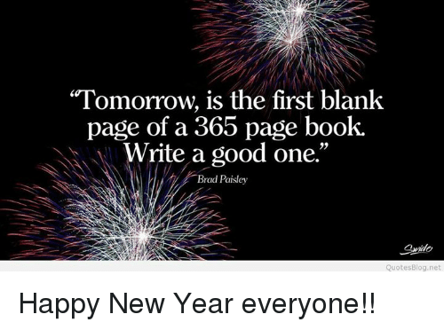 memes blank and tomorrow is the first blank page of happy new year everyone