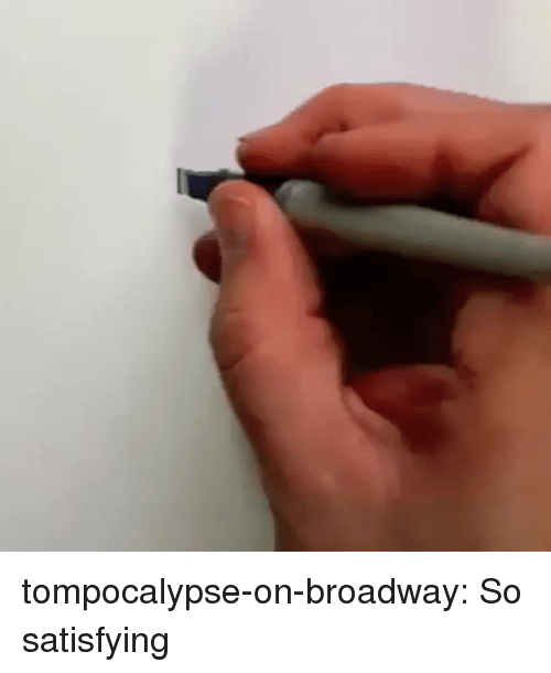 Target, Tumblr, and Blog: tompocalypse-on-broadway: So satisfying