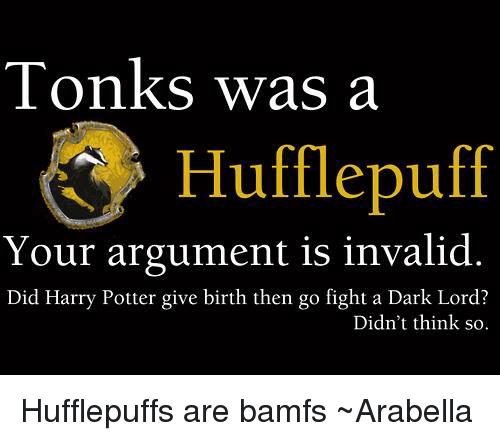 Image result for tonks meme hufflepuff