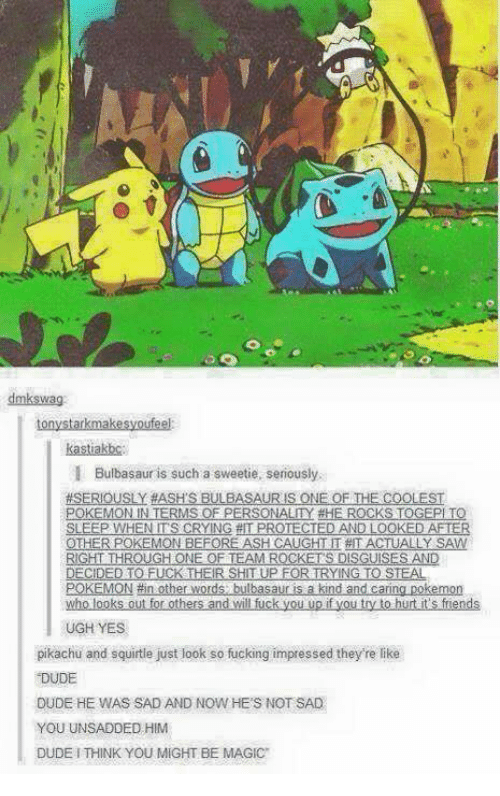 Careful Pokemon