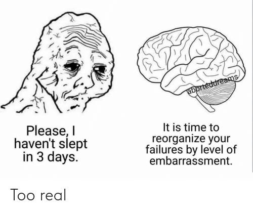 Real, Too, and Too Real: Too real