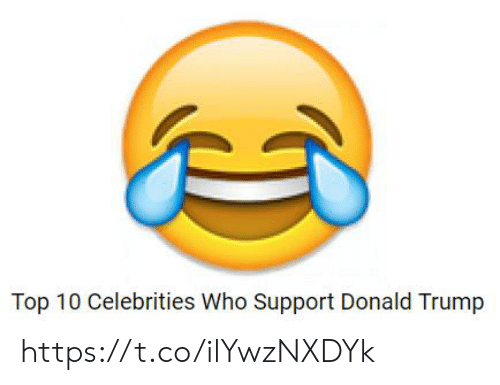Donald Trump, Trump, and Celebrities: Top 10 Celebrities Who Support Donald Trump https://t.co/ilYwzNXDYk