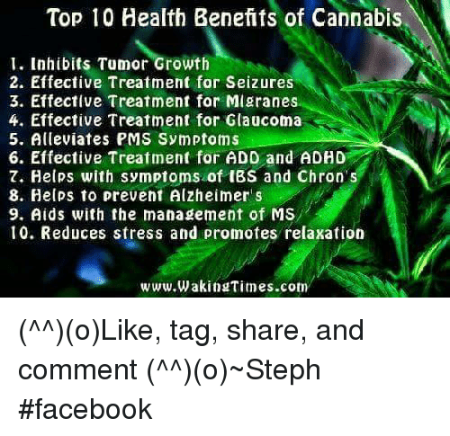 Top 10 Health Benefits of Cannabis I Inhibits Tumor Growth 2