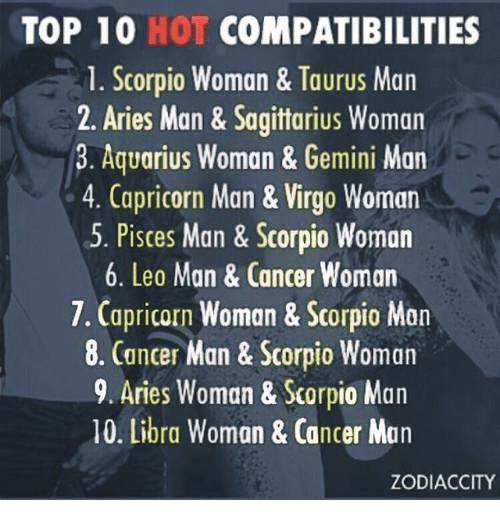 Leo men and scorpio woman