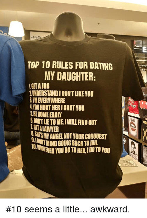 10 rules in dating
