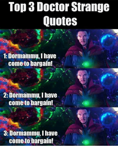 I Have Come To Bargain