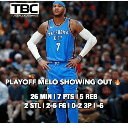 Home Market Barrel Room Trophy Room ◀ Share Related ▶ top ball pts min melo 2 6 reb playoff out Jarreds Wifie Wyo next collect meme → Embed it next → TOP BALLCOVERAGE OKLAHOM PLAYOFF MELO SHOWING OUT 26 MIN I7 PTS 5 REB 2 STLI 2-6 FGI 0-2 3P I-6 Meme top ball pts min melo 2 6 reb playoff out top top ball ball pts pts min min melo melo 2 6 2 6 reb reb playoff playoff out out found @ 17 likes ON 2018-04-27 01:00:16 BY me.me source: facebook view more on me.me
