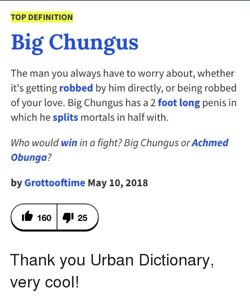 Top Definition Big Chungus The Man You Always Have To Worry About