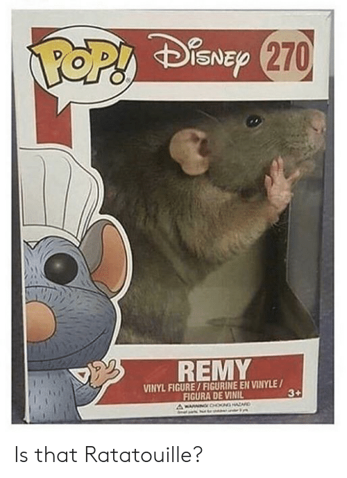 Top Disne 270 Remy Vinyl Figure Figurine En Vinyle Figura De Vinil 3 A Wanng0oogharo Is That Ratatouille Ratatouille Meme On Me Me