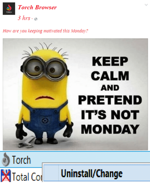 Torch Browser 3 Hrs How Are You Keeping Motivated This Monday? KEEP