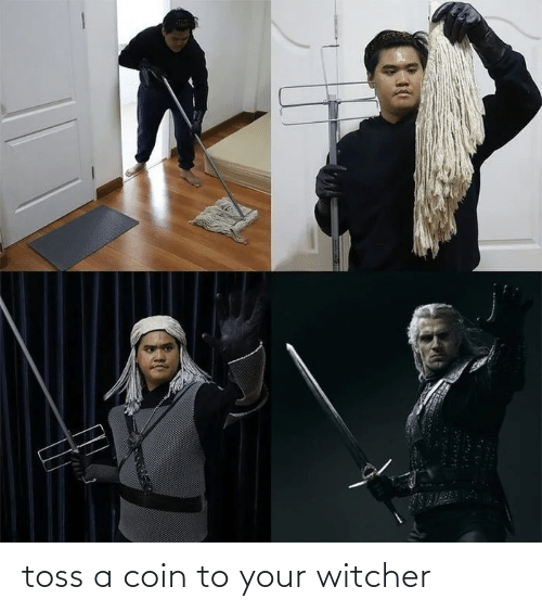 Toss A Coin To Your Witcher Witcher Meme On Me Me