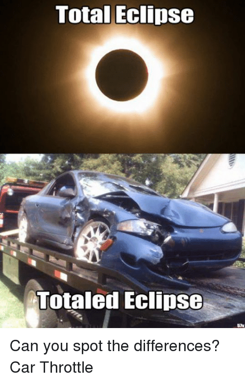 Total Eclipse Totaled Eclipse SN Can You Spot The