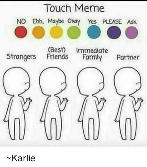 how to make touch memes