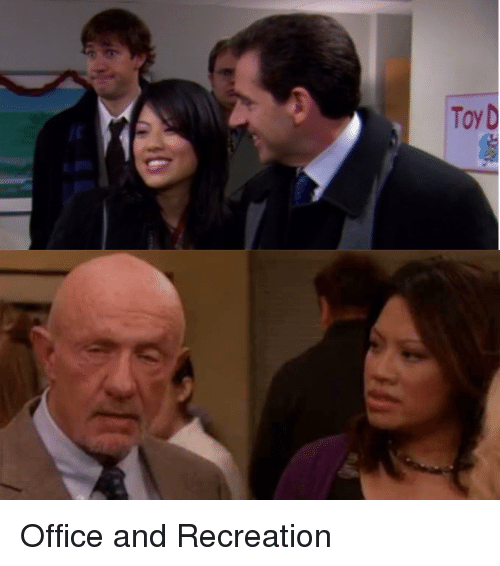Dad, The Office, and Michael: Toy D Office and Recreation