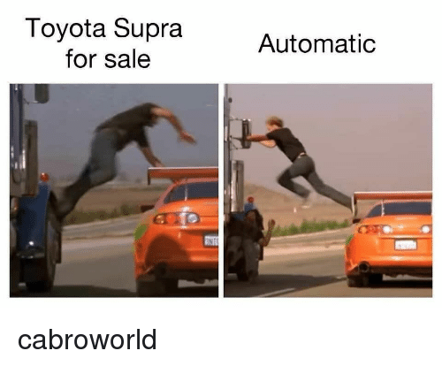 Toyota, Toyota Supra, and Supra: Toyota Supra  for sale  Automatic cabroworld