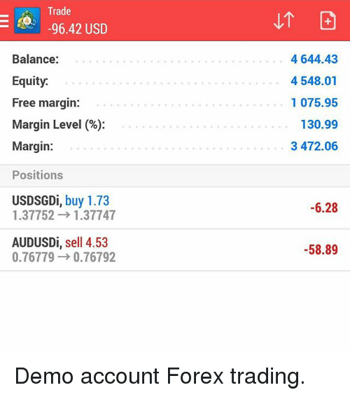 Forex margin free margin margin level