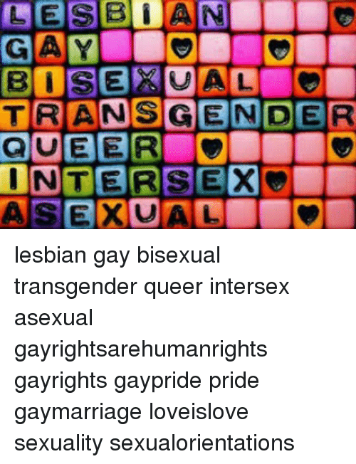 Difference between lesbian gay bisexual transgender