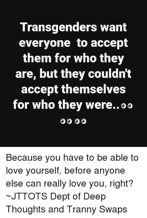 Accept yourself who wants affection are welcome 10