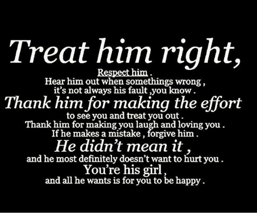 How to tell if he is right for you