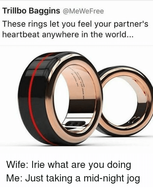 trillbo baggins these rings let you feel your partner s heartbeat