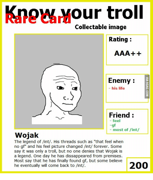 Troll Collectable Image Rating Enemy His Life Friend Feel Gf Most Of
