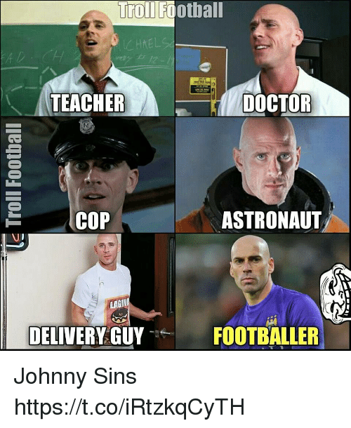 Johnny Sins On Table