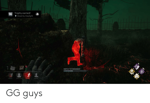 Trophy Earned! Dead by Daylight SWITCH TO PUNISHMENT RoxasFair