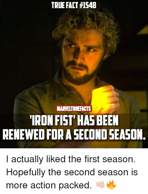 true fact 1548 marveltruefacts iron fist has been renewed for 25920338 ✅ 25 best memes about iron fist iron fist memes,Iron Fist Meme