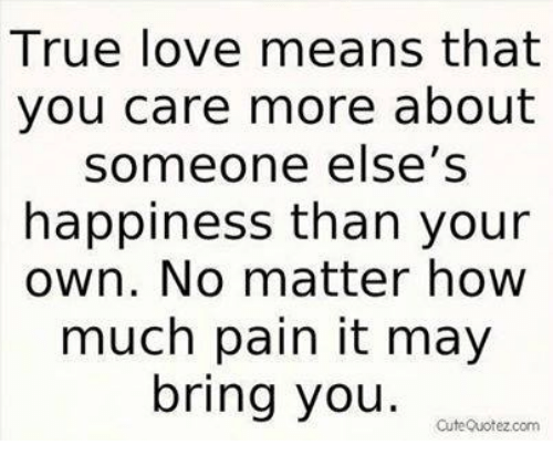 what does true love mean