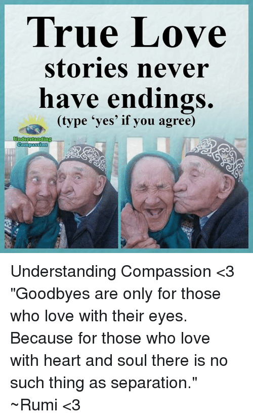 True Love Stories Never Have Endings Type Yes If You Agree