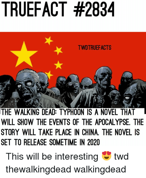 Walking Dead Events 2020.Truefact 2834 Twdtruefacts The Walking Dead Typhoon Is A