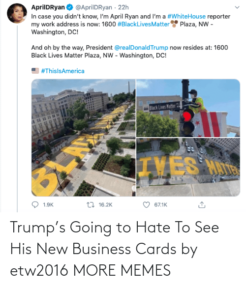 Dank, Memes, and Target: Trump's Going to Hate To See His New Business Cards by etw2016 MORE MEMES